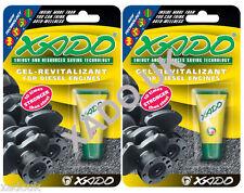 XADO Diesel Engine Oil Additive Treatment Restores Save Fuel Cuts MOT Emissions