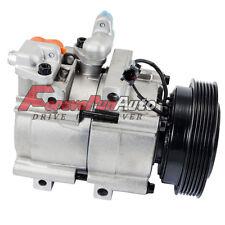 A/C Compressor w/ Clutch 58185 For 99-06 Hyundai Sonata Kia Optima 2.5L 2.7L