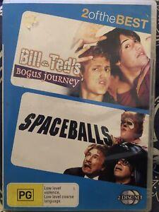 BILL & TED'S BOGUS JOURNEY / SPACEBALLS DVD (2 Disc Set) Region 4