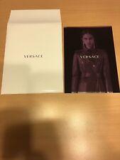 Catalogue Versace pré  fall 2017 - women + envelloppe
