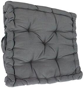 "Armchair Booster Cushion, Grey, Size 45 x 45 x 10 cms, 18"" x 18"" x 4"""