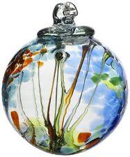 Kitras Art Glass Decorative Spirit Ball, 6-Inch, Light Blue, New, Free Shipping