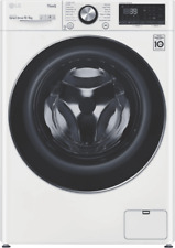 LG WVC9-1410W 10/6kg Front-Loading Washer and Dryer - White