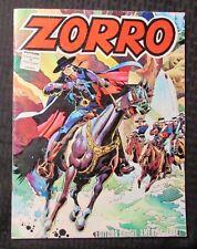 1979 Grande Adventures of ZORRO Treasury VG 4.0 EBAL Brazil/Spanish