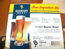 Brewers Best Whisky Barrel Stout Beer Kit, Brewing Kit, Beer Making Kit