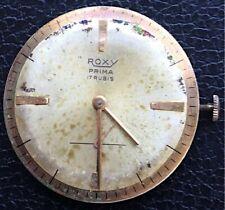 Roxy cuerda manual vintage watch reloj 31 mm funcionando
