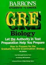 How to Prepare for the Gre Biology: Graduate Record Examination in Biology