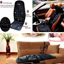 Car Seat Lumbar Support Cushion Chair Comfort Legs Back Pain Relief Massager 12V