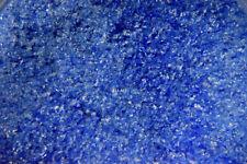 0147.01- 1oz DEEP COBALT BLUE OPAL BULLSEYE GLASS FINE FRIT 90 COE FUSIBLE