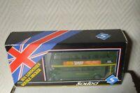 BUS SOLIDO LONDONIEN DOUBLE DECKER EN BOITE  DIE CAST CAR/AUTOBUS NEUF 1/50