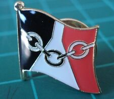 BLACK COUNTRY -  Flag Pin Badge  High Quality Gloss Enamel