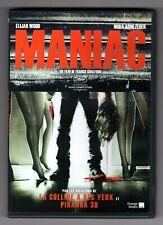 DVD ★ MANIAC - FILM HORREUR DE FRANCK KHALFOUN ★ ELIJAH WOOD , NORA ARNEZEDER