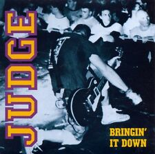 Judge Bringin' It Down Red Vinyl Lp NYHC CRO-MAGS AGNOSTIC FRONT SIDE BY SIDE