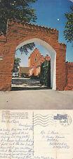 1973 ODDEN CHURCH ODDE DENMARK COLOUR POSTCARD