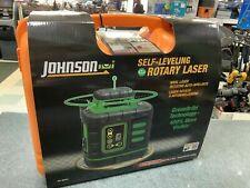 Johnson Self-Leveling Rotary Laser w/GreenBrite Technology 40-6543 New