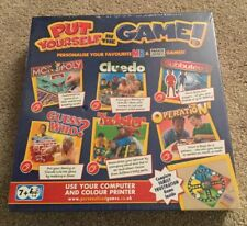 MB Gift Put Yourself in The Game Frustration Cluedo Monopoly Guess Who