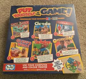 Put Yourself In The Game - MB Games - New & Factory Sealed Family Fun