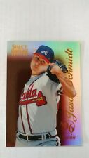 1996 (BRAVES) Select Certified Mirror Red #110 Jason Schmidt card