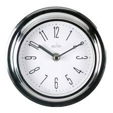 Acctim 21737 Riva Wall Clock Chrome