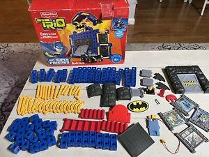 Fisher Price Trio Batman Batcave T3832 Easy-click Bricks Missing Few Pieces