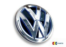 NEW GENUINE VW JETTA CHROME BLUE VW TRUNK BOOT LID BADGE EMBLEM 5C6853630A LIP
