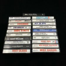 Assorted Lot Of 21 Classic Country Cassette Tapes