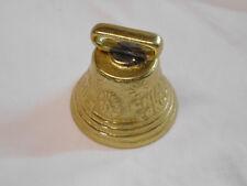 """Solid Brass Swiss Cow Bell 2 3/4"""" 65-4460 Weaver"""