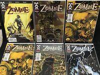 Marvel MAX COMICS ZOMBIE Run/ Lot/ Set 1, 2, 3x2, 4/ And THE Zombie 1/ Walking