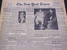 1953 NOV 20 NEW YORK TIMES - FBI SPY CALLS REDS ACTIVE IN G. E. PLANTS - NT 4484