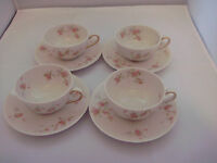 Theodore Haviland New York Cup and Saucer Pink Spray Pattern