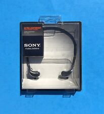 Sony MDR-W08L Ultra Lightweight Stereo Headphones NEW and SEALED