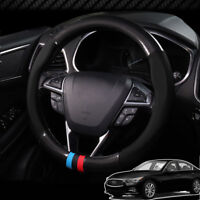 For Infiniti Q50 Car Steering Wheel Cover Anti-Slip Carbon Fiber Top PVC Leather