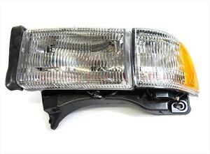 Dodge Ram 1500 2500 3500 FRONT LEFT DRIVER SIDE HEADLIGHT LAMP OEM NEW MOPAR