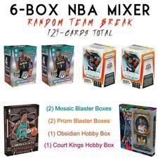 2019-2020 Panini Mosaic, Prizm, Obsidian, Court Kings 6-Box Nba Mixer Live Break