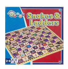 Snakes and Ladders Traditional Childrens & Family Board Game with Magnetic
