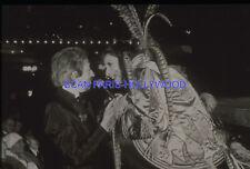 SERGE GAINSBOURG 1980s DIAPOSITIVE DE PRESSE ORIGINAL SLIDE VINTAGE #38