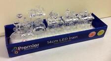 New Acrylic Colour Changing LED Train 14cm Batt-Op Christmas Decoration