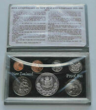 New Zealand - 1983 - Annual Proof Coin Set - 50th Anniversary (New Zealand Coina