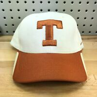 UT Texas Longhorns NCAA College White & Orange NIKE TEAM Baseball Cap Hat