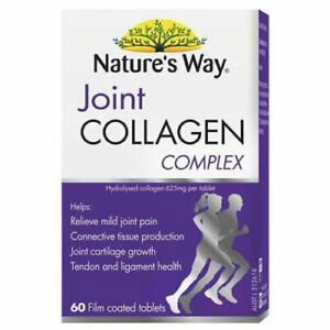 Nature's Way Joint Collagen Complex 60S Relieve Mild Joint Pain FREE POSTAGE