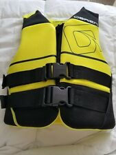 O'BRIEN Yellow Youth Neoprene Unisex Kids Life Vest Jacket Preserver PFD 50-90lb