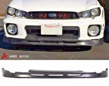 01-02 Bugeye Subaru Impreza WRX STI Front Bumper Splitter Lip Spoiler P1 Style