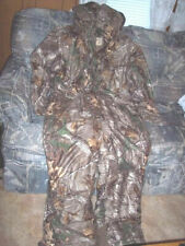 Mens XL Realtree Camo Coveralls Waterproof Coveralls Insulated Hunting Coveralls
