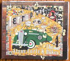 STEVE EARLE & THE DUKES Terraplane CD + DVD Digipack (2015) NEW & SEALED