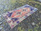Handmade wool rug, Turkish vintage rug, Carpet, Bohemian rug | 3,4 x 6,3 ft