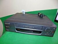ORION D2098 Video Cassette Recorder VHS Smart VCR Black Small FULLY TESTED