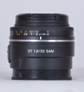 Sony DT 35mm f/1.8 SAM Lens for A-Mount Lens/APS-C Format