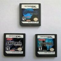 Castlevania Dawn Sorrow Ruin Ecclesia Game Card For NDS NDSL 3DS