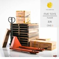 Five Toys Forklift 1/6 Scale Dicast Figure Accessories Set F2001