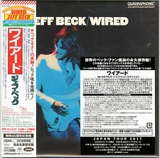 2016 Jeff Beck Wired Japan 5.1ch Hybrid SACD 7inch EP Size Sleeve